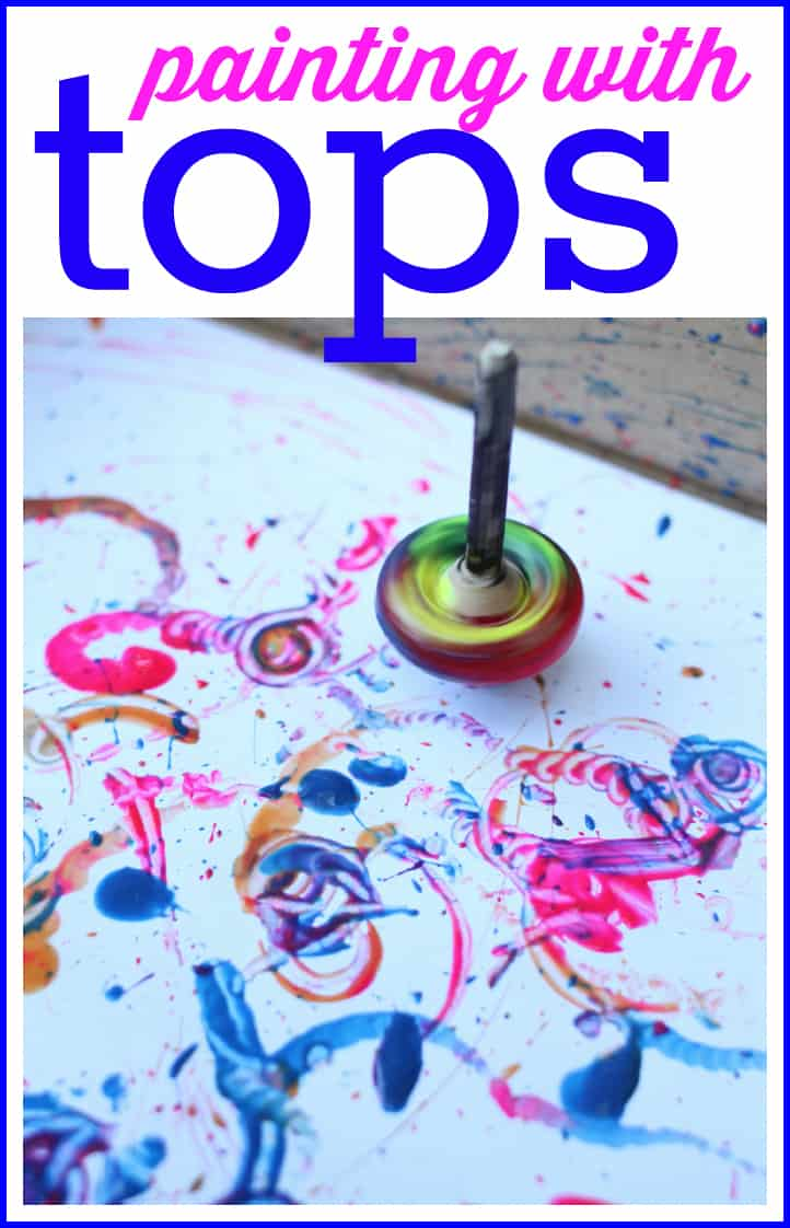 Paint With Tops I Can Teach My Child