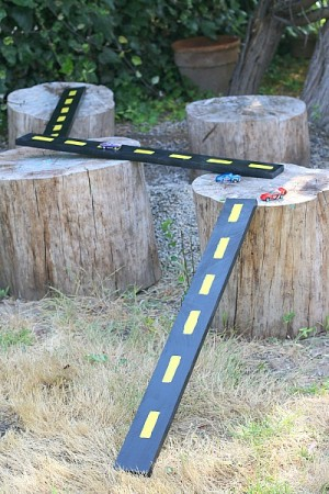 Wooden Roads for Cars and Trucks