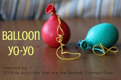 balloon yo yo 1 500x333 Show and Share Saturday Link Up!