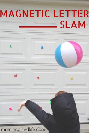 Magnetic-Letter-Slam