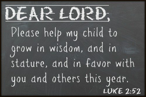 A Back to School Prayer for our Kids - I Can Teach My Child!