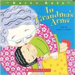 in grandmas arms