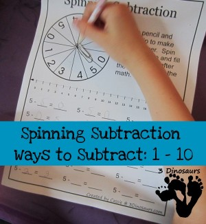spinningsubtractionsheets