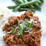 Freezer-Friendly Crock Pot Turkey Curry Chili