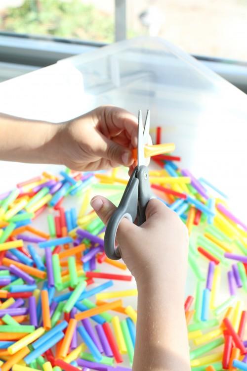 IMG 2276 500x750 Drinking Straw Sensory Tub