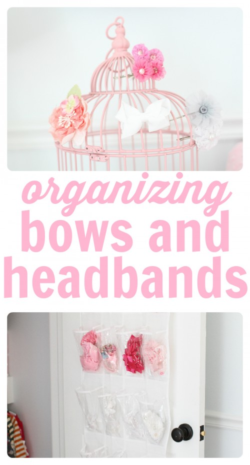 Organizing bows and headbands 500x928 A Solution for Organizing Headbands and Bows
