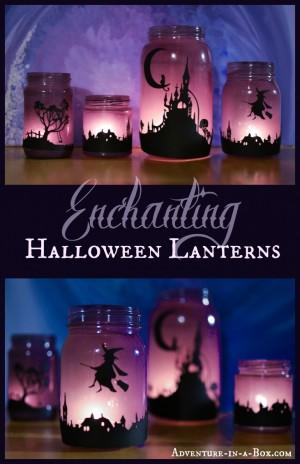 Enchanting Halloween Lanterns Header 300x464 Show and Share Saturday Link Up