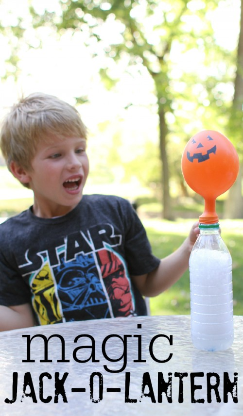 Magic Jack-O-Lantern Science Experiment