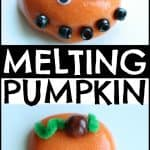 Melting Pumpkin with Homemade Silly Putty