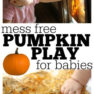Mess-Free Pumpkin Play for Babies