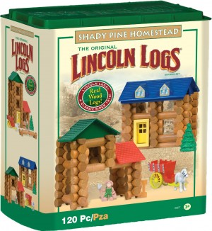 lincoln logs 300x326 45% Off Retro Games Today Only (10/9)