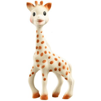 sophie the giraffe - best baby toys