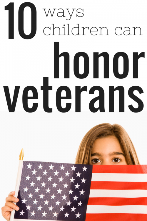 10 Ways Children Can Honor Veterans