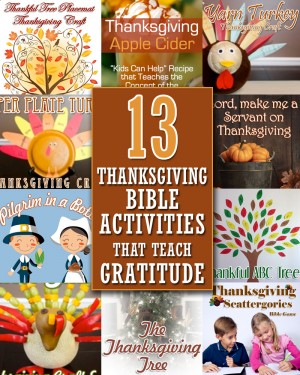13 thanksgiving bible activities 2 300x375 Show and Share Saturday Link Up!