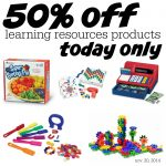 50% off Learning Resources Products Today Only (11/20)