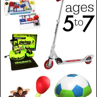 Best Gifts for Boys Ages 5-7