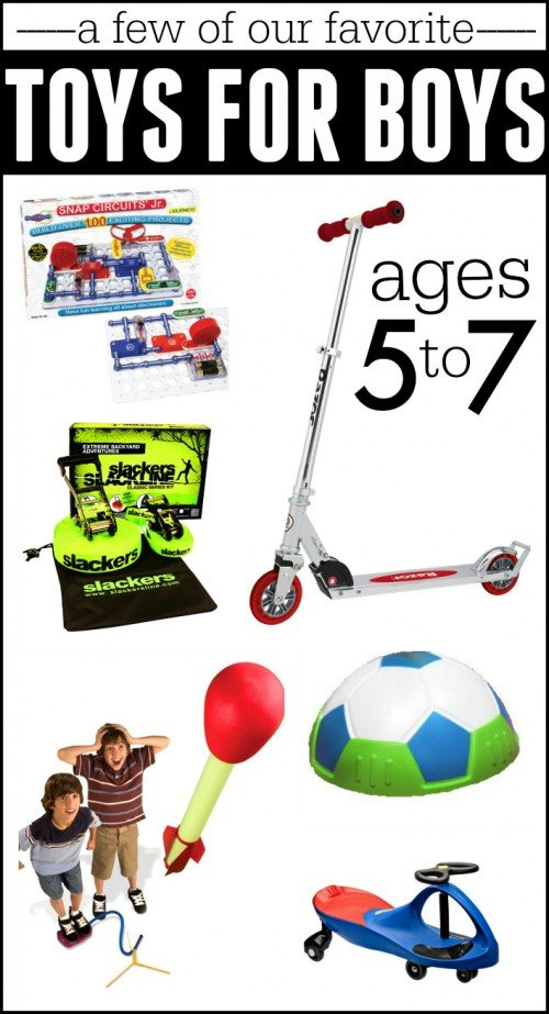 Toy For Ages Five To Seven : Best gifts for boys ages i can teach my child