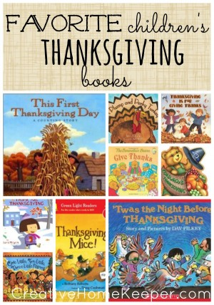 Favorite Childrens Thanksgiving Books 300x428 Show and Share Saturday Link Up!