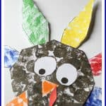 Free Printable Shape Turkey Craft 150x150 Make It: Chalkboard Turkey Place Card