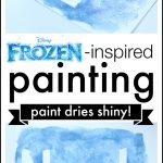 Frozen-inspired Painting