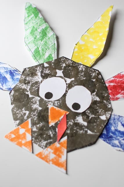 IMG 3436 Shape Turkey for Preschoolers