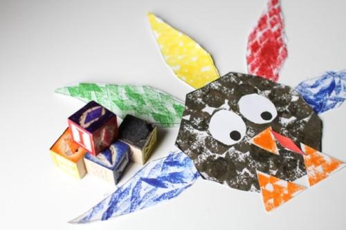IMG 3444 500x333 Shape Turkey for Preschoolers
