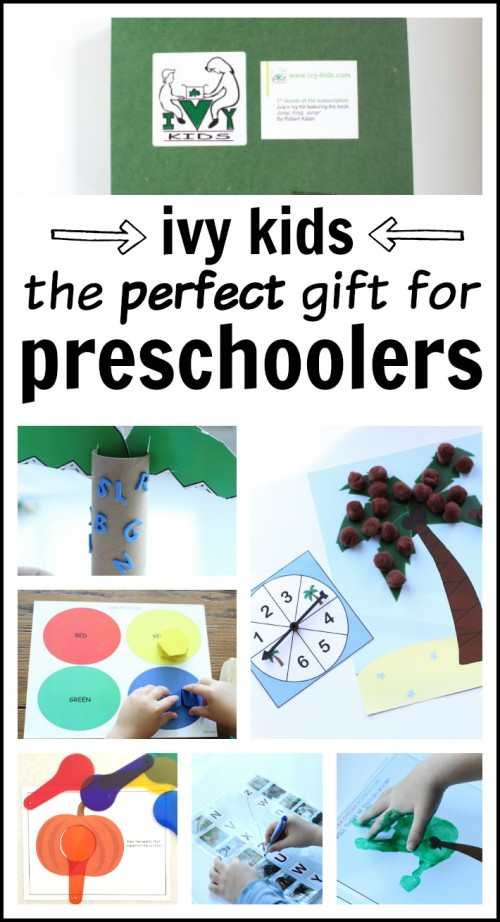 Ivy Kids- The perfect gift for preschoolers