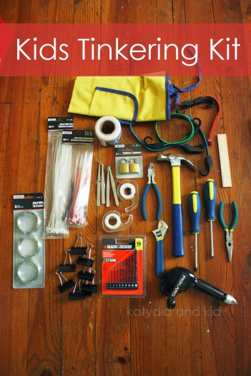 Kids Tinkering Kit 500x750 Best Gifts for Boys Ages 5 7