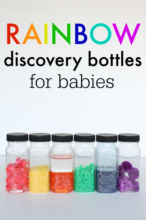 Rainbow Discover Bottles for Babies