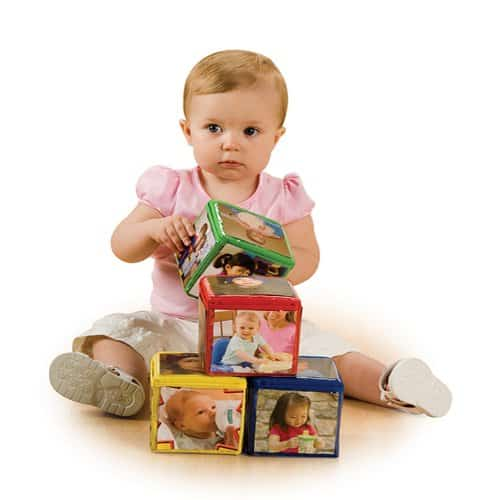 Stack and Smile photo blocks - best baby toy