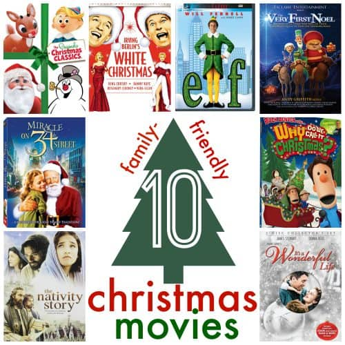 10 Christmas Movies Square