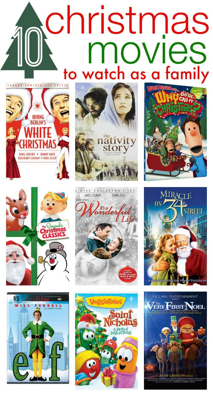 10 Christmas Movies to Watch as a Family