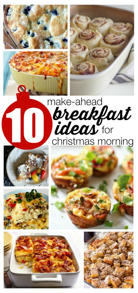 Along with easy make-ahead recipes to feed a crowd, we'll also share tips for getting set up for a stress-free Christmas breakfast. With a little advance prep, you can relax and enjoy the holidays, too.