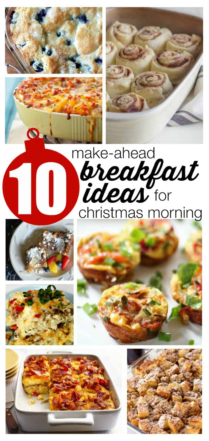 10 make ahead breakfast ideas for christmas morning