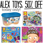 50% off ALEX Toys Today Only