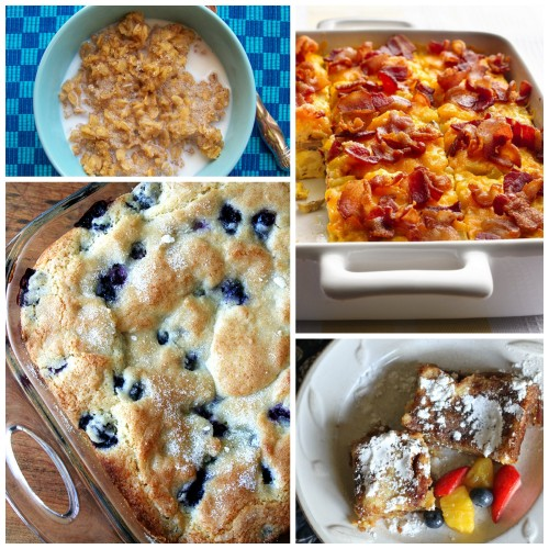 Breakfast ideas to make ahead