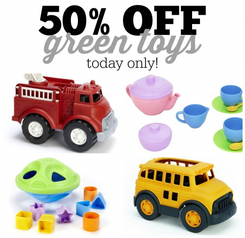 Green toys 500x485 Green Toys are 50% off Today Only