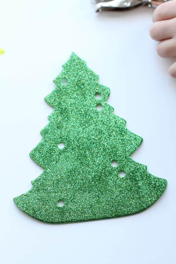IMG 5010 Fine Motor Christmas Trees