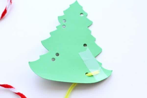 IMG 5017 Fine Motor Christmas Trees