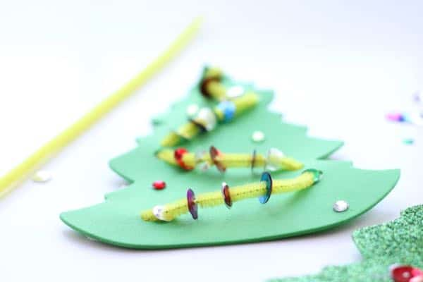 IMG 5042 Fine Motor Christmas Trees