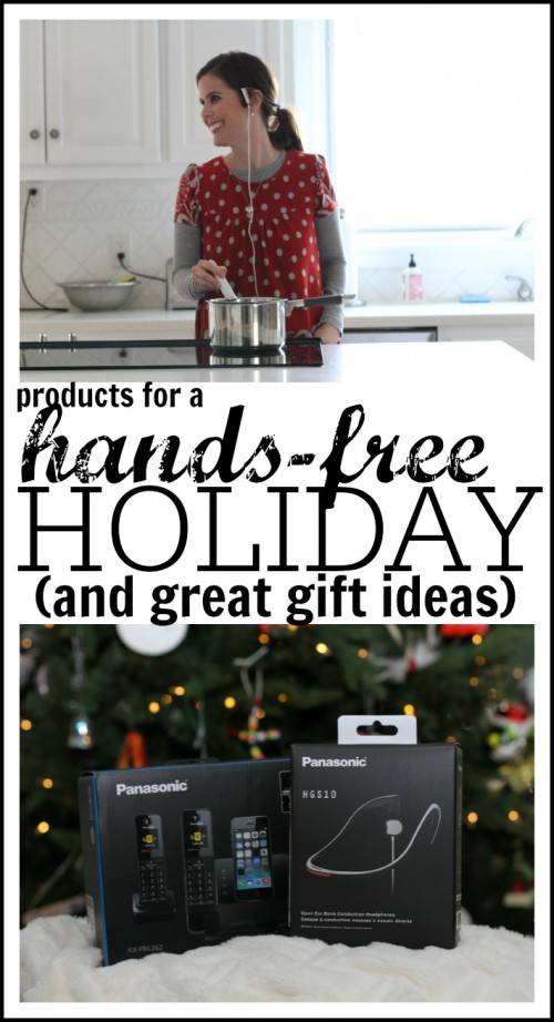 Products for a Hands-Free Holiday (and great gift ideas too)