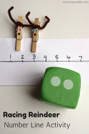 Racing-Reindeer-Number-Line-Activity-Counting-Game