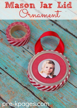 easy preschool ornament 300x423 Show and Share Saturday Link Up!