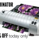 Scotch Thermal Laminator for $16.99 Today Only!