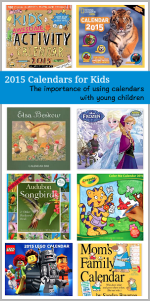 using calendars with kids
