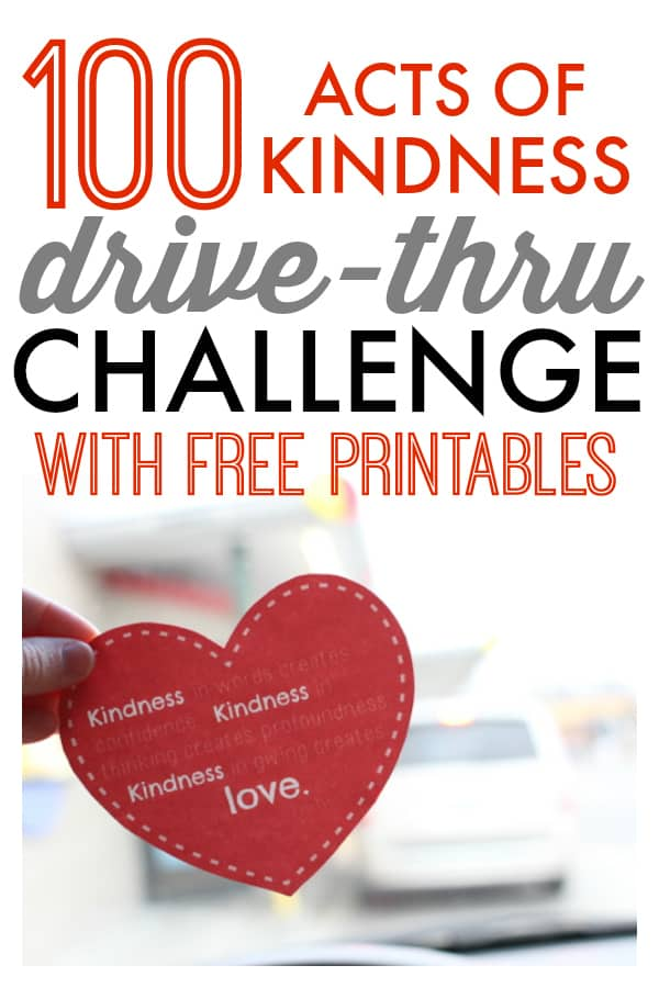 100 Acts of Kindness Drive-Thru Challenge