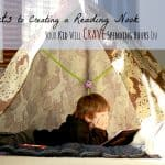 3 Secrets to Creating a Reading Nook Your Kid Will Crave Spending Hours In