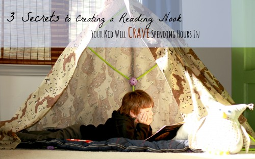 3 secrets reading nook
