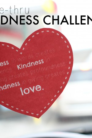 Drive-Thru Kindness Challenge