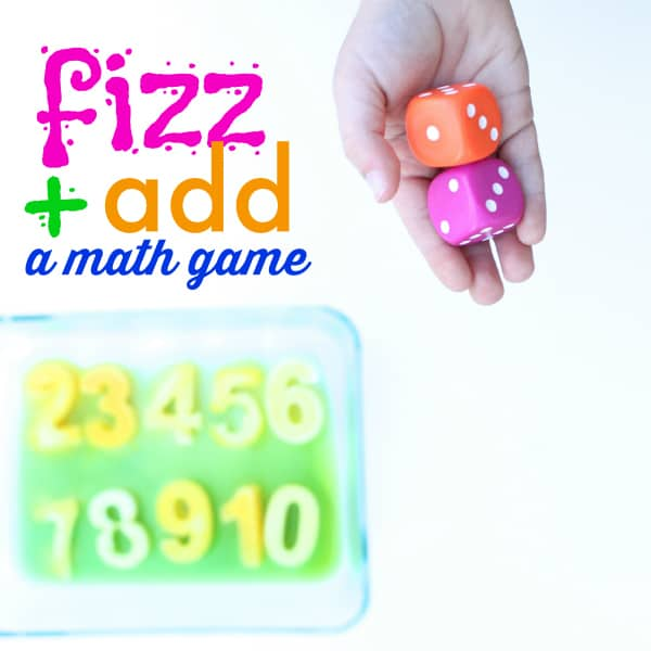 Fizz and Add Math Game Square